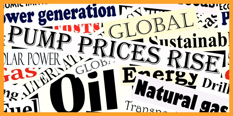 Oil prices headlines
